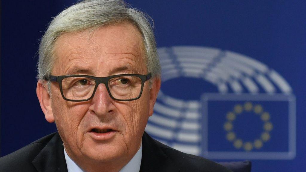 Wind back in Europe's sails, Juncker tells EU parliament