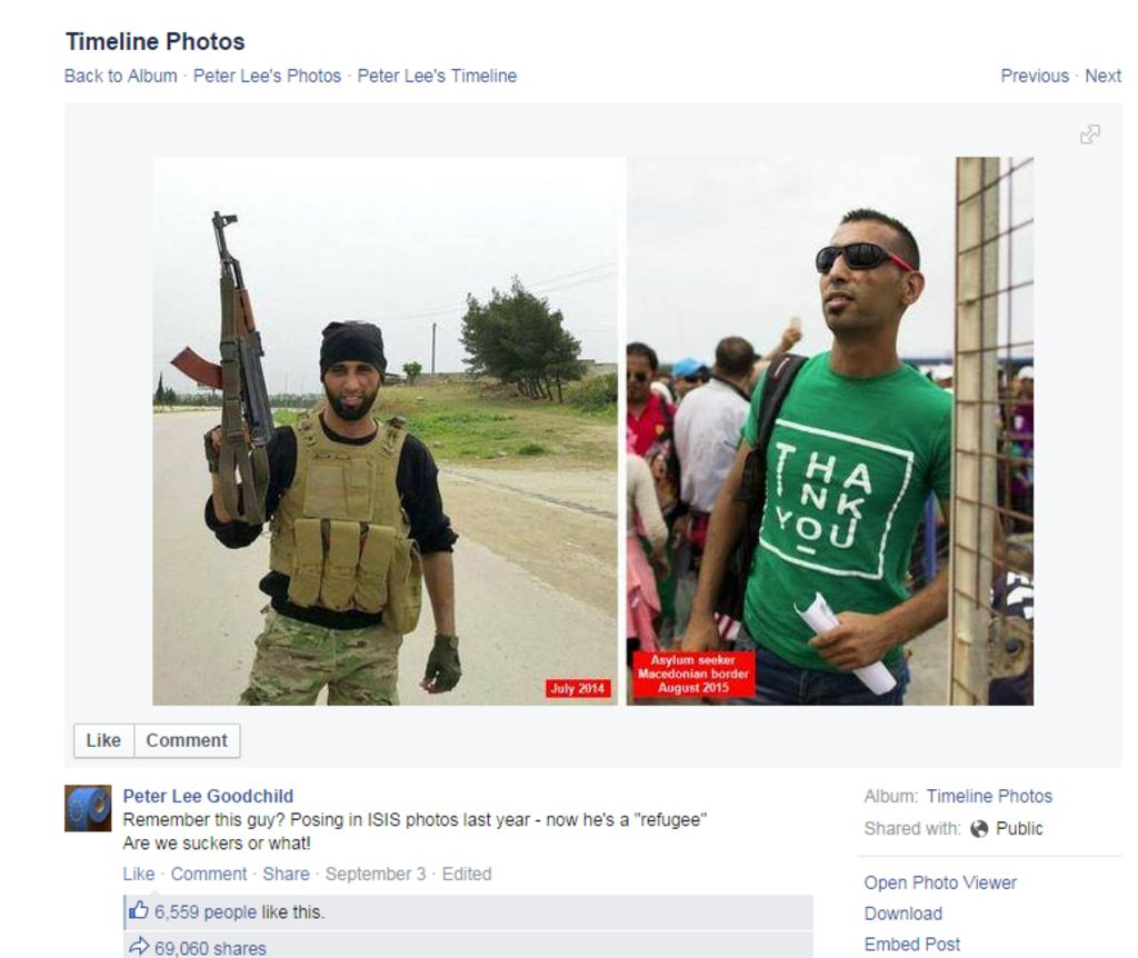 Trending News Viral Added A New Photo: Laith Al Saleh: This Viral Photo Falsely Claims To Show An