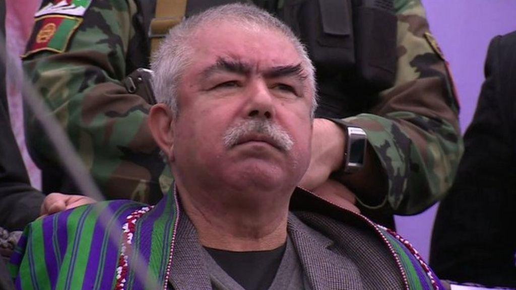 General Dostum's plane 'denied Afghan landing'