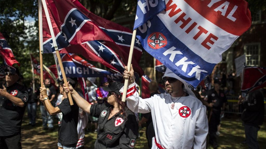 KKK rally in Virginia leads to rival protests and clashes