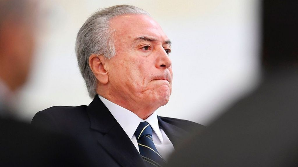 Brazil president seeks suspension of corruption investigation