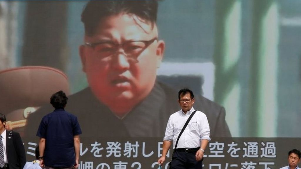 North Korea missile test splits world powers