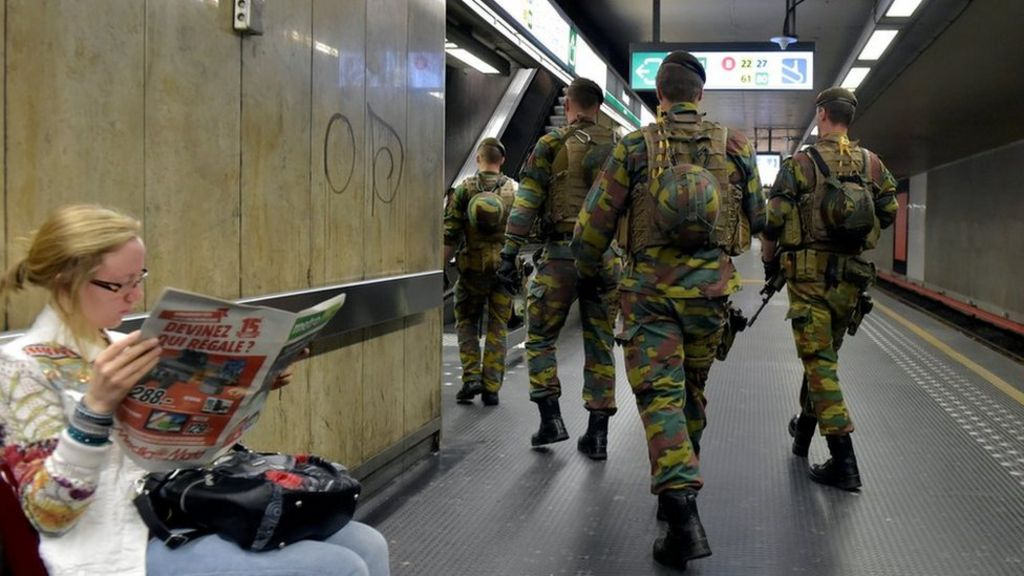 Brussels station evacuated after reports of explosion – BBC News