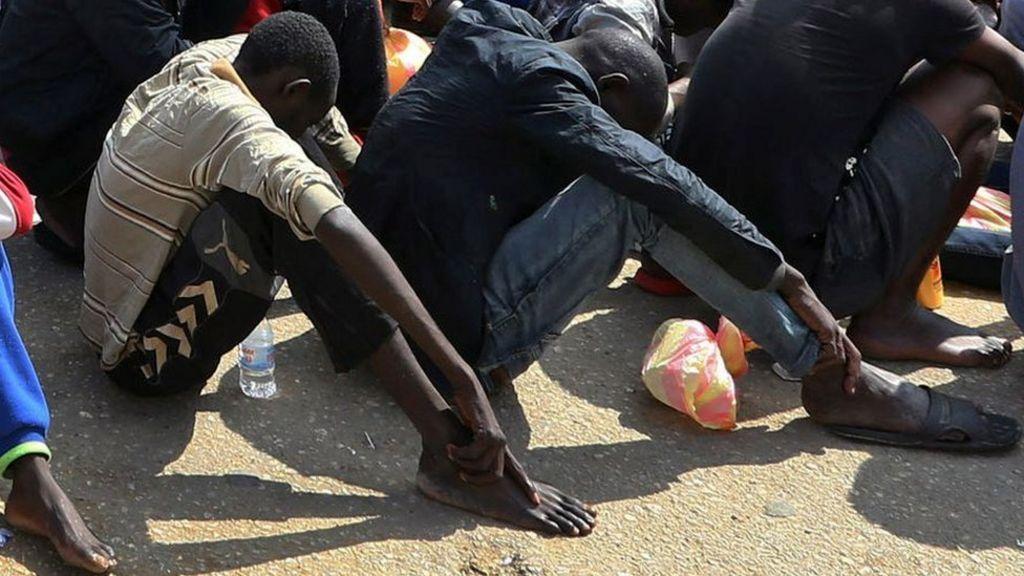 Rwanda offers refuge to Libya 'slaves'
