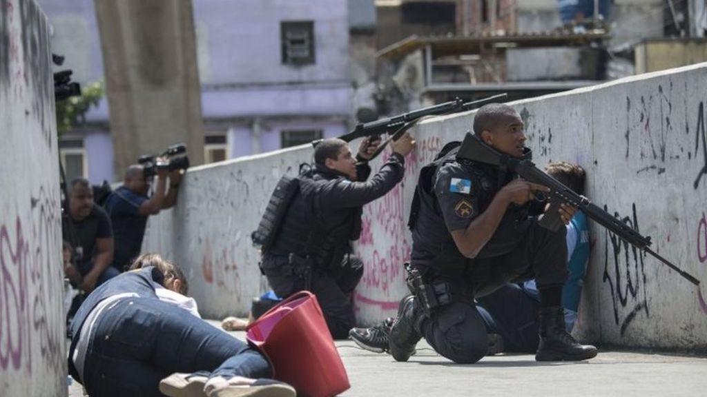 Brazil's army sent into Rio favela