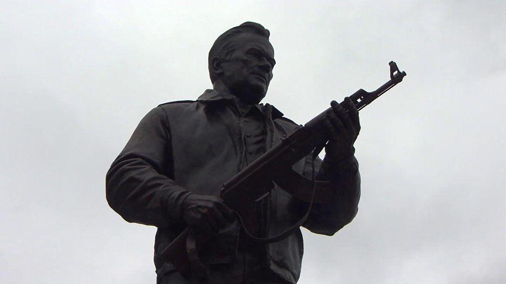 Kalashnikov inventor gets own statue