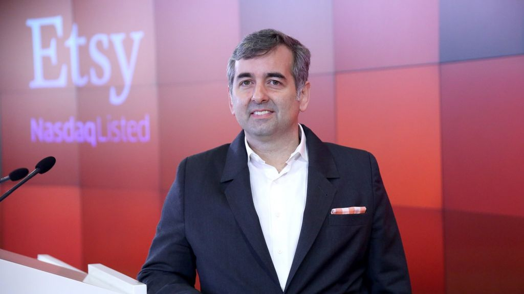 Etsy Chief Executive Quits After Quarterly Loss