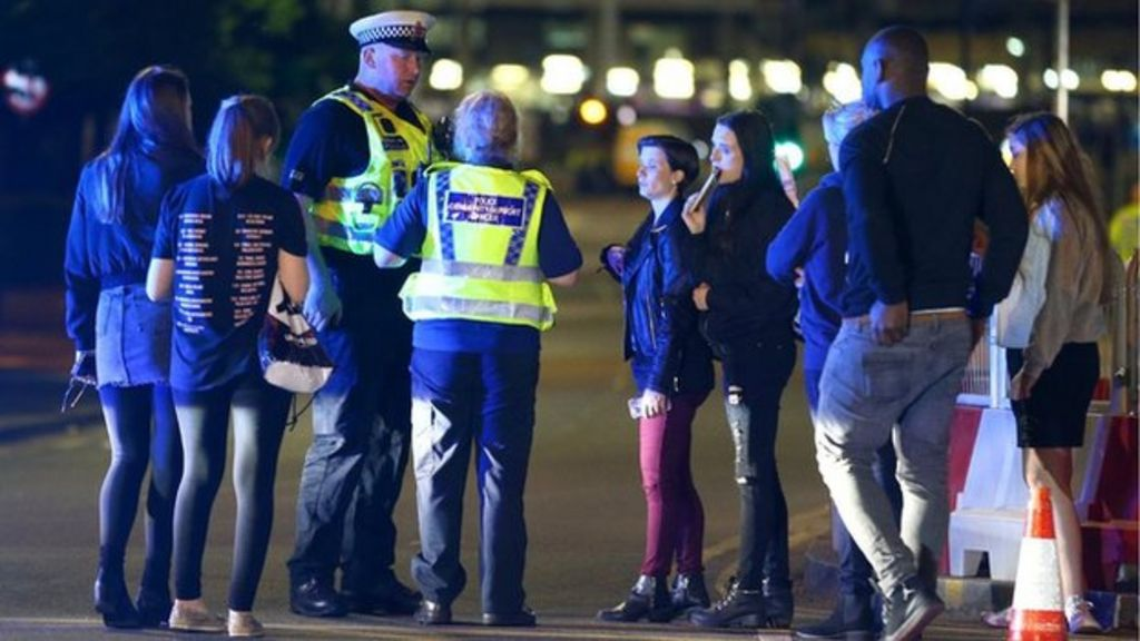 Manchester Arena blast: Confusion and chaos after explosion at concert