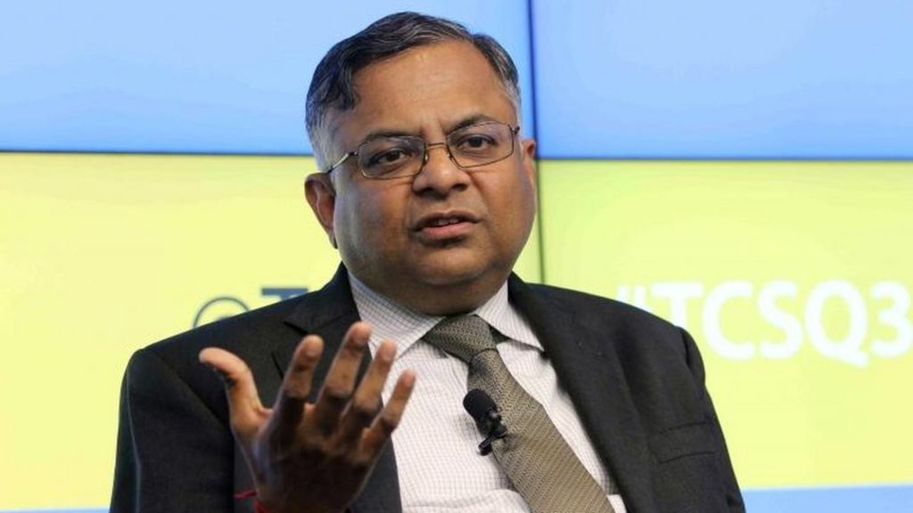 Tata Sons names Natarajan Chandrasekaran new chairman