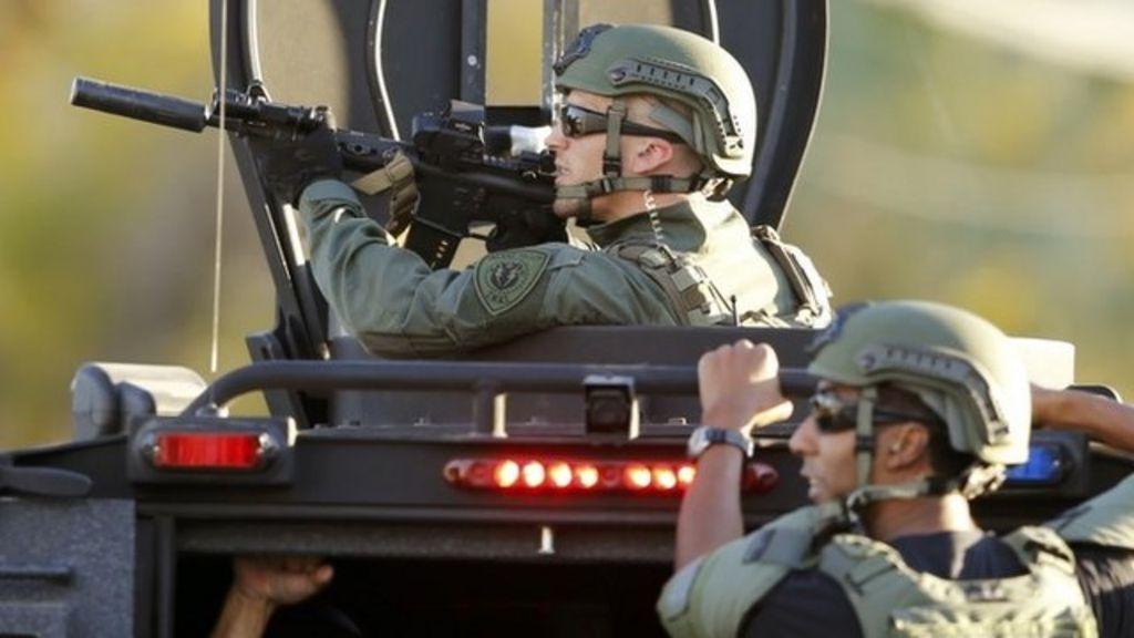 San Bernardino shooting: At least 14 dead - BBC News