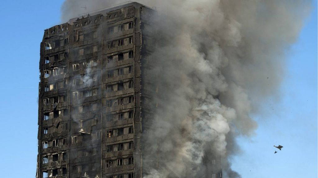 Grenfell Tower: Cladding firm ends global sales for tower blocks