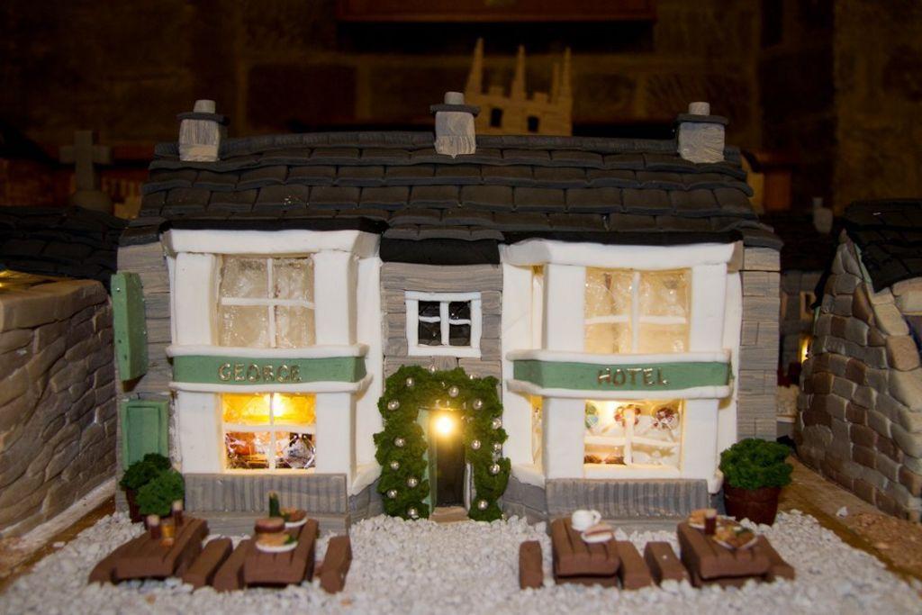 & Derbyshire village recreated using Christmas cake - BBC News Aboutintivar.Com