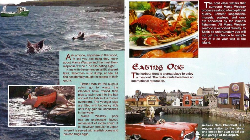 cate blanchett in spoof tourist brochure for orkney u0026 39 s