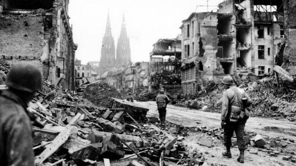 Bomber Command Maps Reveal Extent Of German Destruction