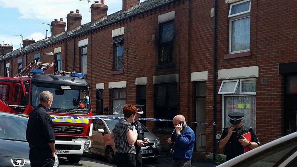 Woman and three children die in Bolton house fire