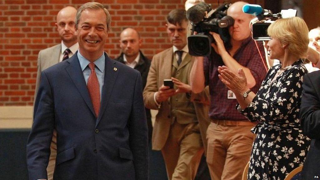 The Nigel Farage story