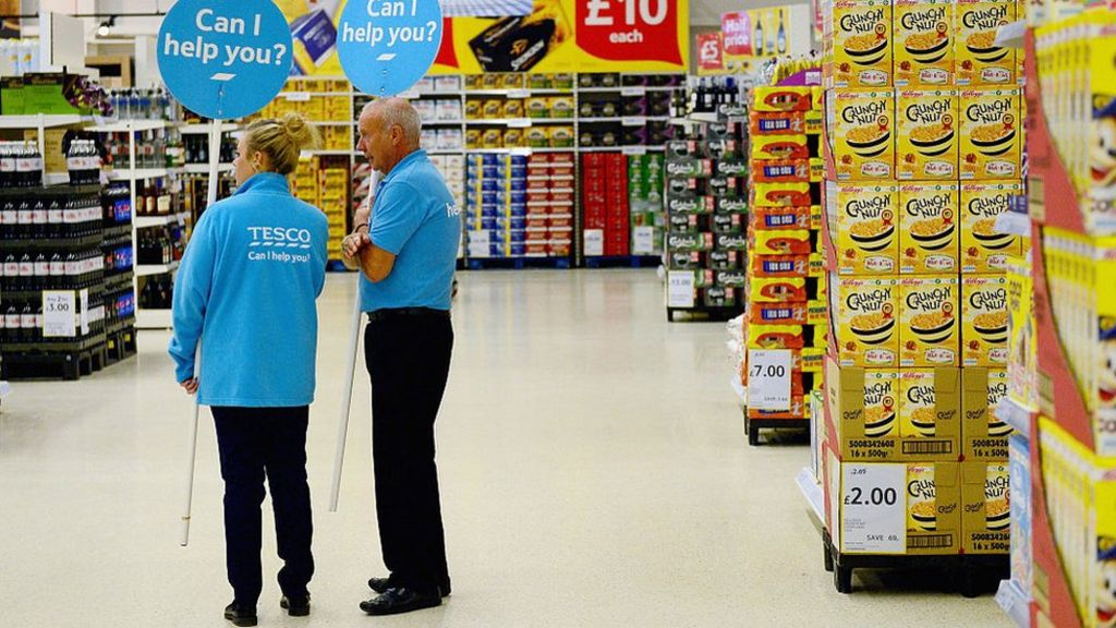 Tesco is raising store staff pay by 10.5% over two years