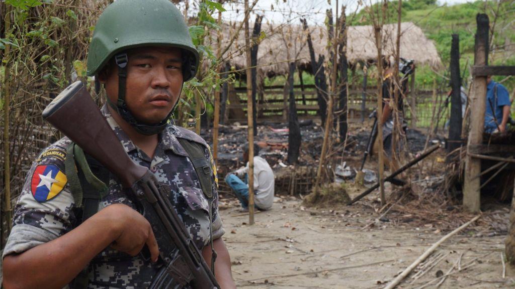 Myanmar tensions: Dozens dead in Rakhine militant attack