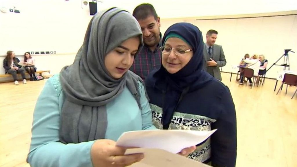 Girl who fled Iraq 'never imagined' getting nine GCSEs