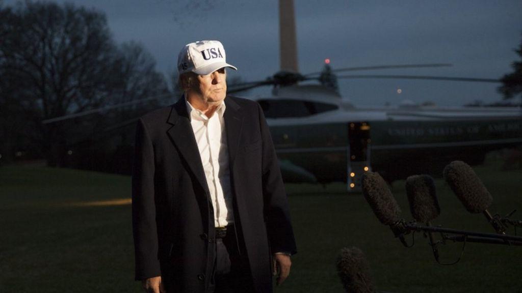 Russia inquiry: Trump denies he plans to fire Robert Mueller