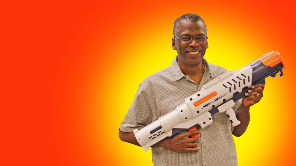 lonnie johnson the father of the super soaker bbc news