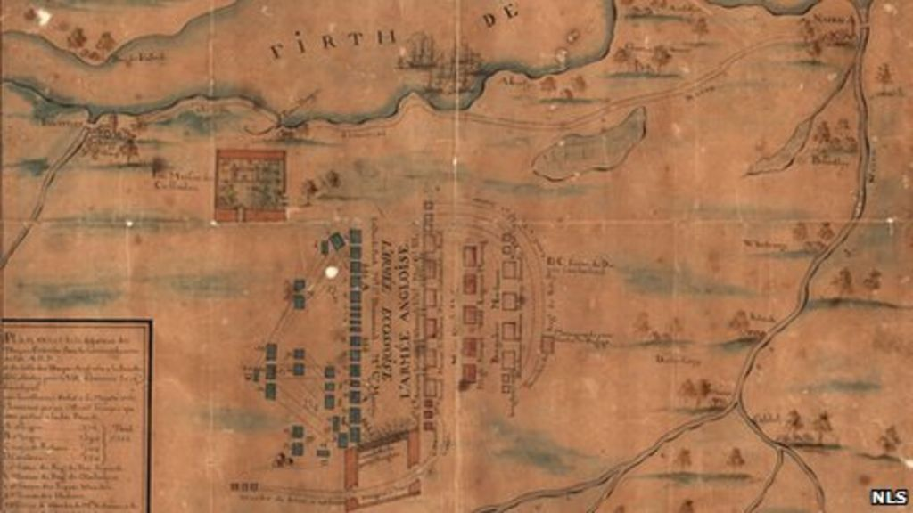 culloden battle map going on display in inverness
