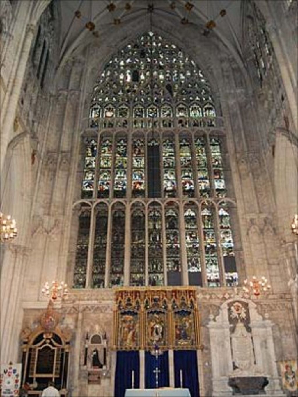 york minster gets lottery funding boost bbc news