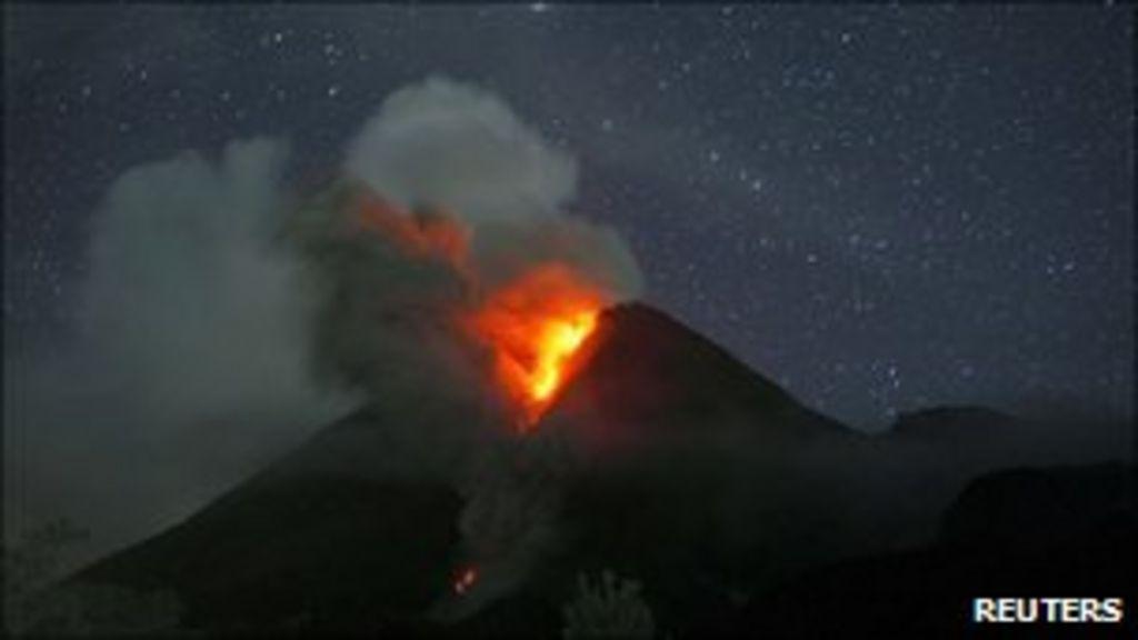 Bbc News Indonesia Volcano Eruption