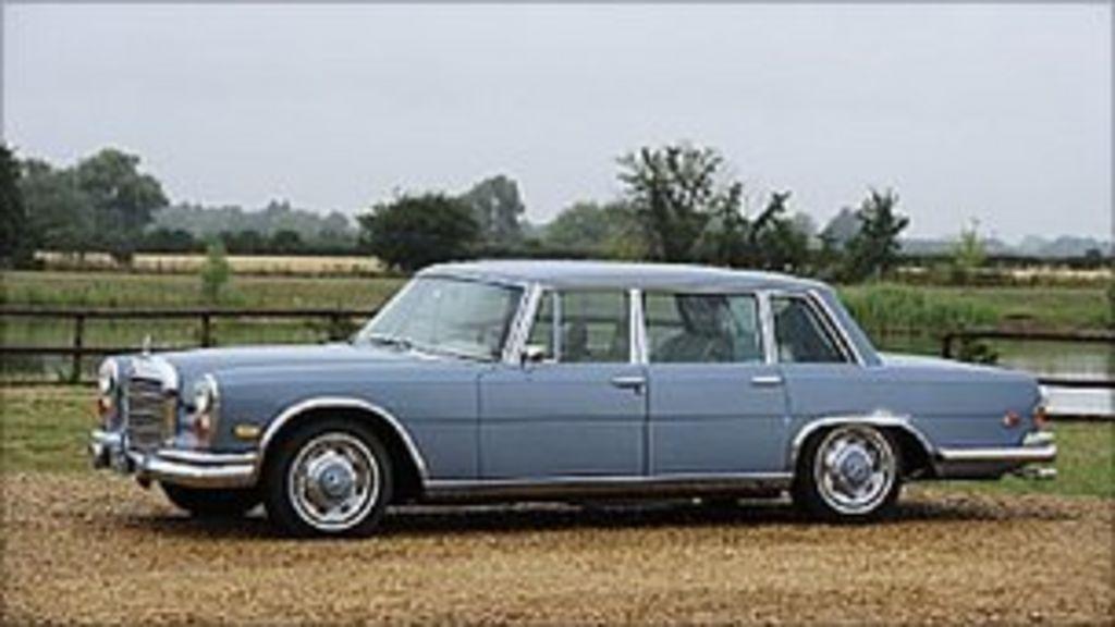 Elvis presley 39 s mercedes benz auctioned in surrey bbc news for Mercedes benz surrey uk
