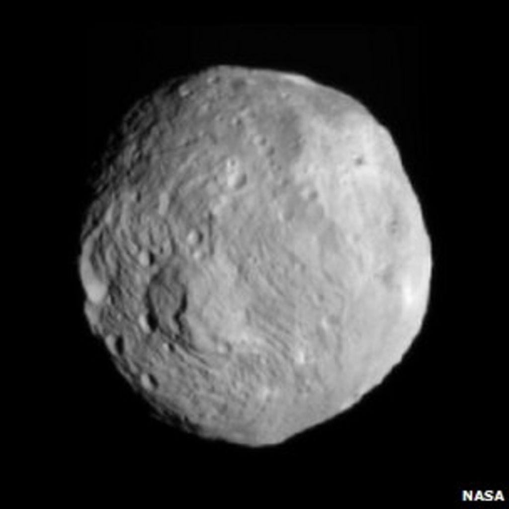 Dawn probe orbits asteroid Vesta - BBC News