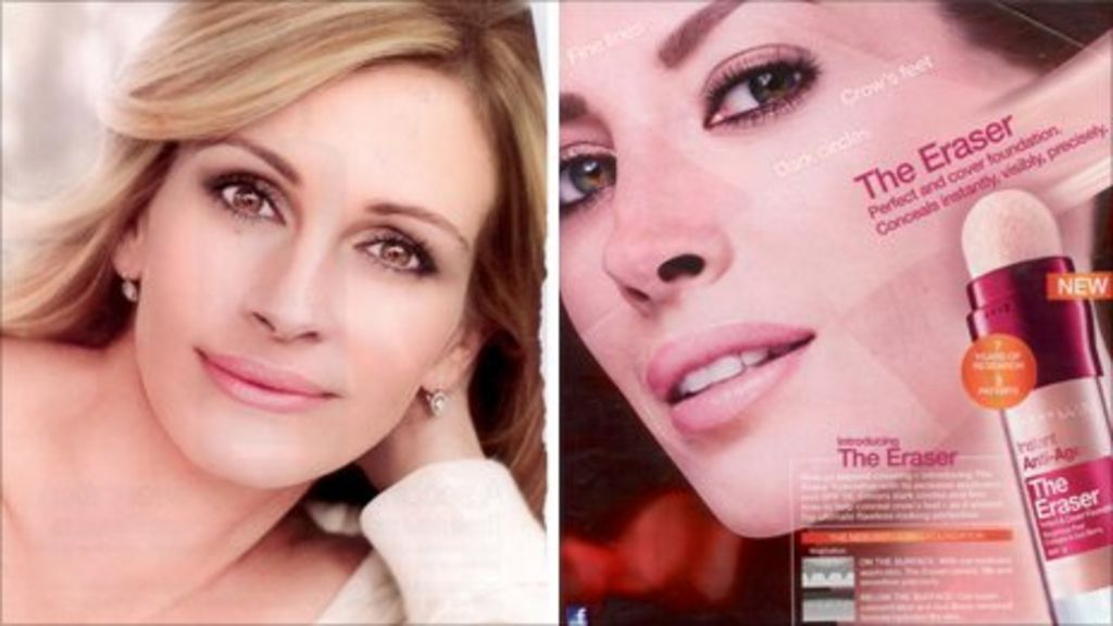 airbrushed make up ads banned for misleading news
