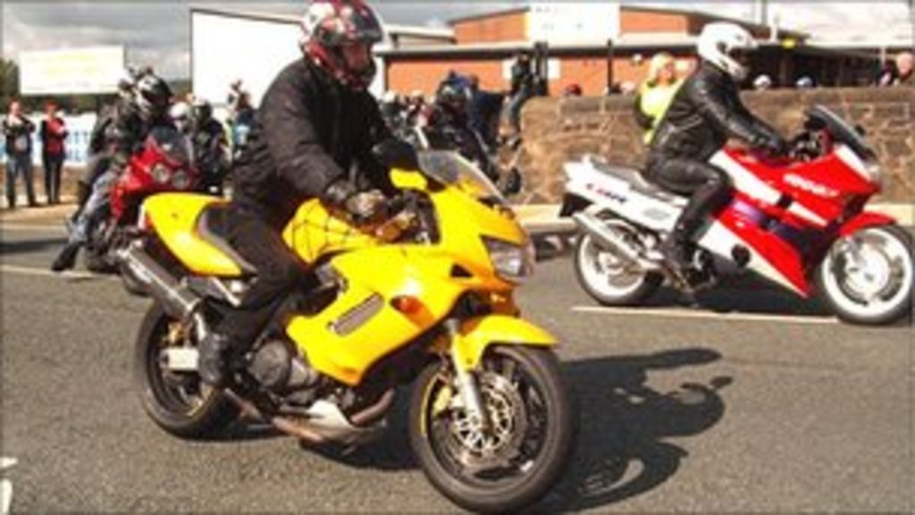 Motorbike ride for pet charities
