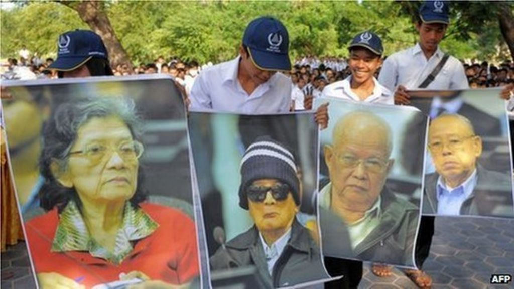 Cambodia Genocide: Khmer Rouge Trio Go On Trial