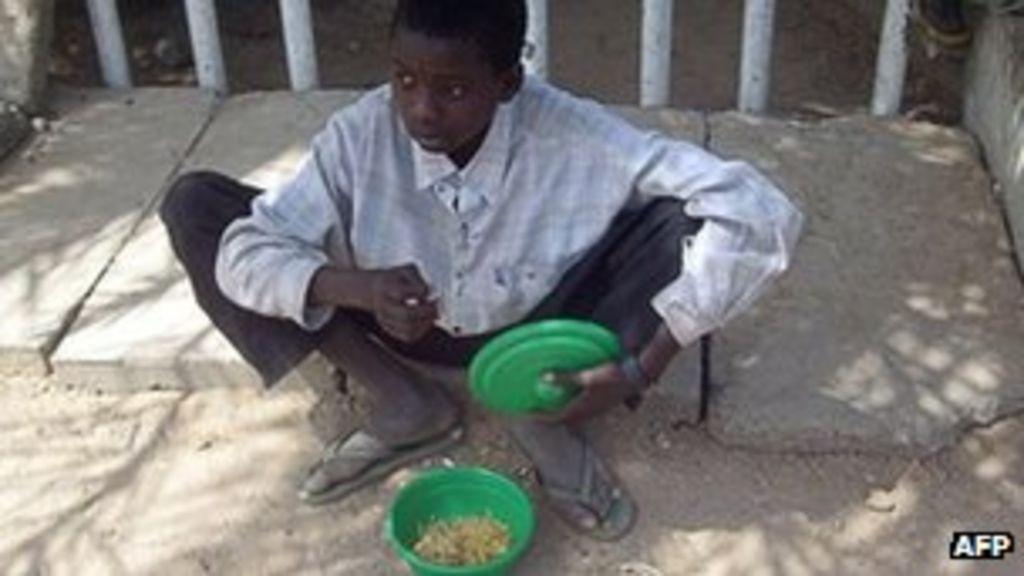 african beggar essay