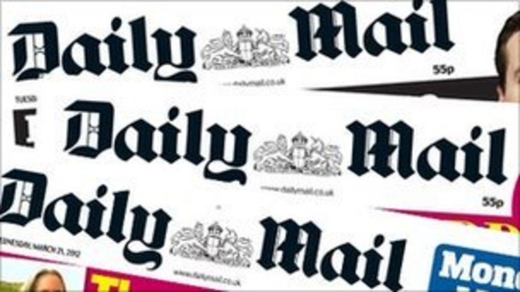Daily Mail named newspaper of the year - BBC News