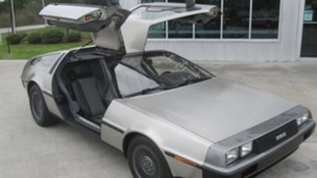 Back To The Future As Delorean Goes Electric - Bbc News-8443