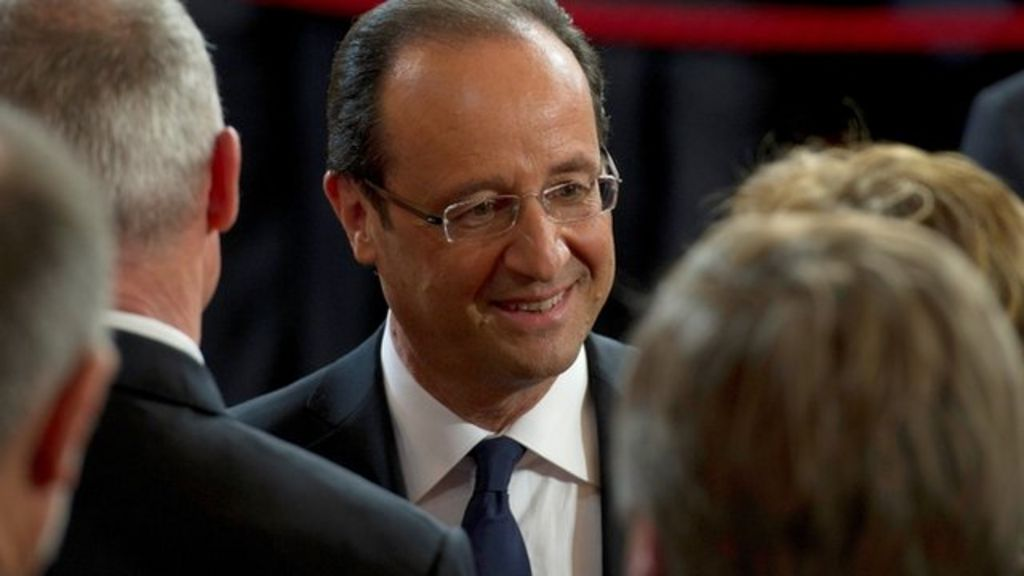 Francois Illas New Tradition: Francois Hollande Becomes France's New President