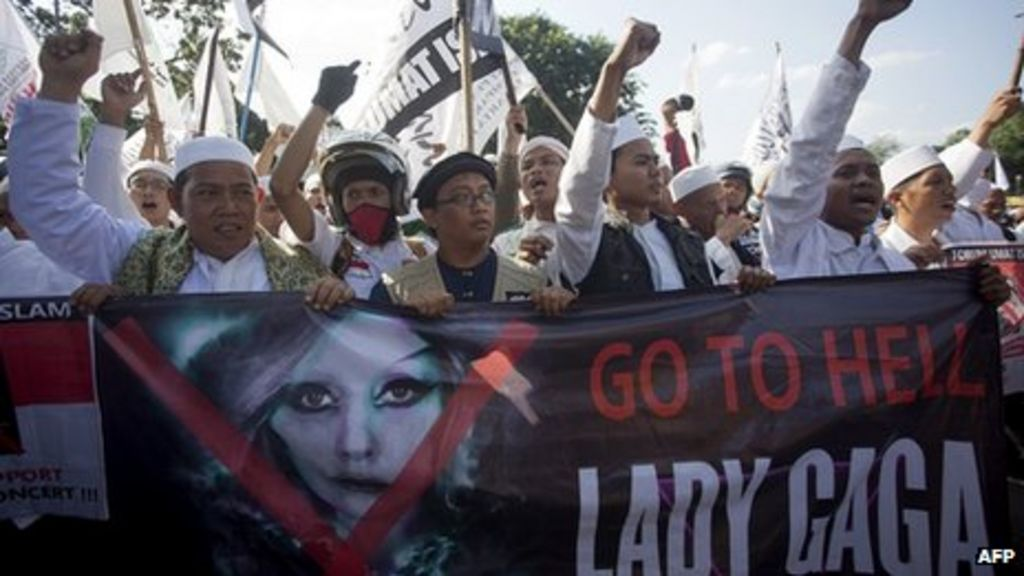 Lady Gaga devastated as Indonesia concert cancelled  BBC News