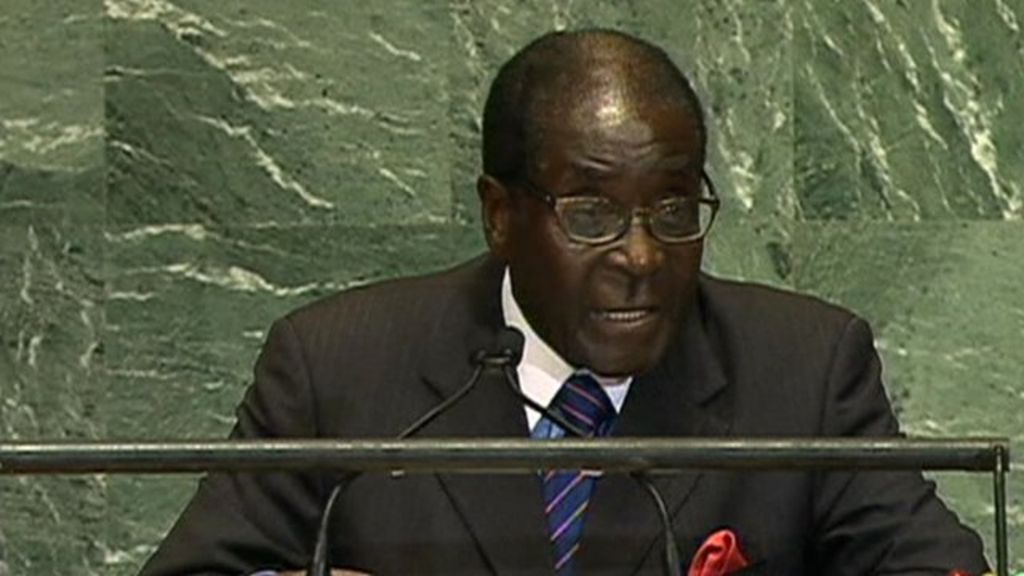 Technology Management Image: Robert Mugabe Laments 'brutal And Barbaric' Death Of