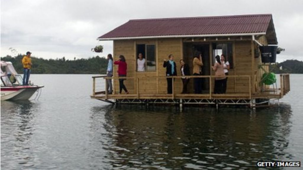 Are floating homes a solution to uk floods bbc news for Building a floating home