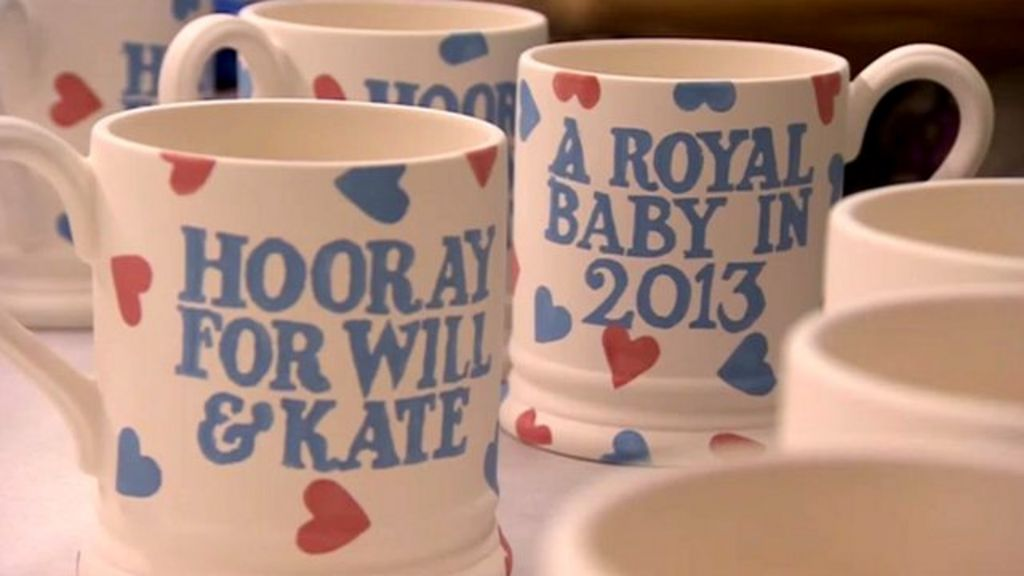 Royal Baby Gifts Uk : Royal baby manufacturers start work on souvenirs bbc news