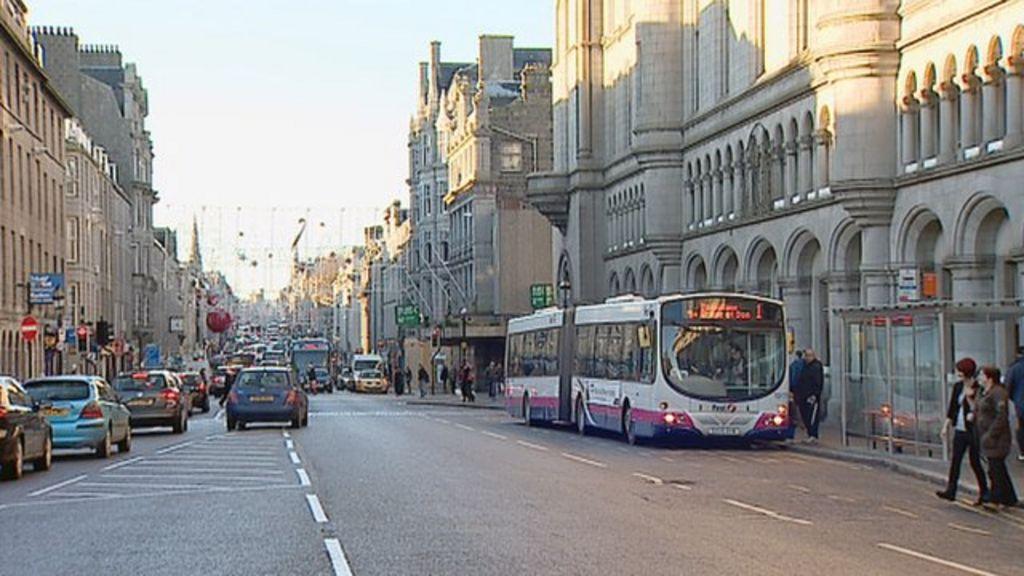 Union Street Car Park Aberdeen