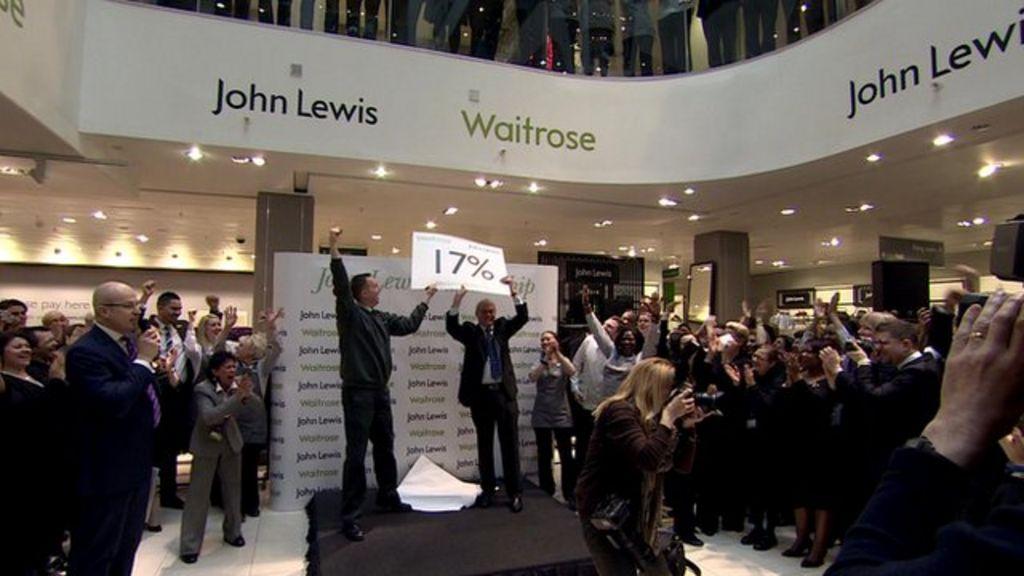 John lewis staff count down to 17 bonus bbc news for John lewis design service