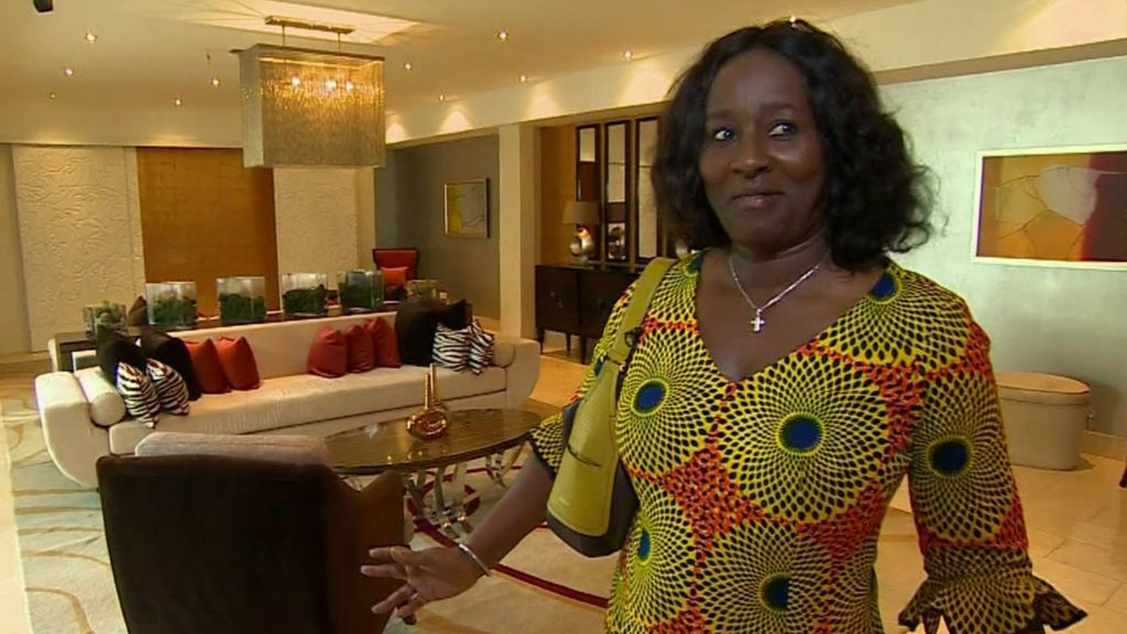 Ghanas Luxury Building Boom A Pool With A View BBC News - Ghana luxury homes