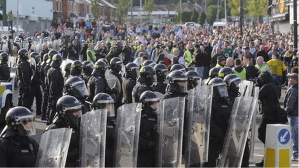 ardoyne riots  three men jailed over 12th july trouble in