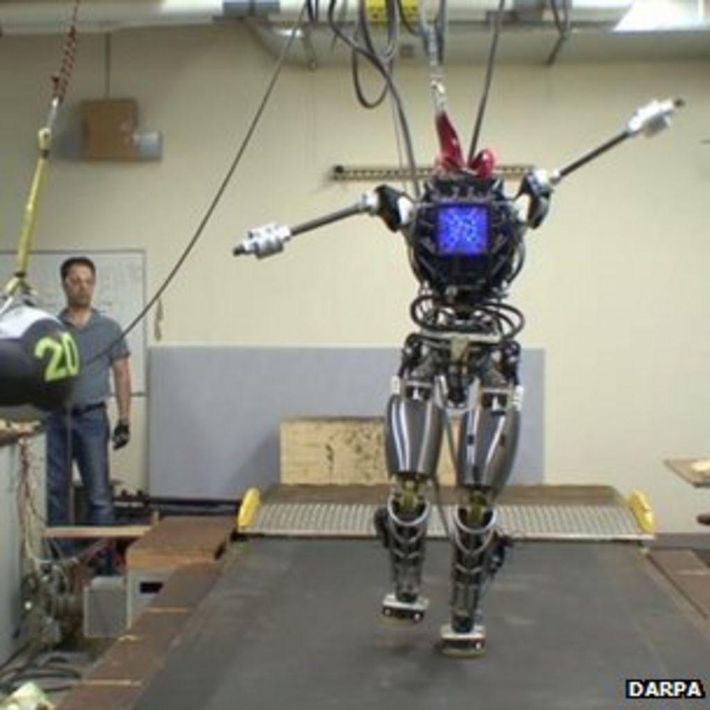 us unveils 39 atlas 39 humanoid robot test bed bbc news. Black Bedroom Furniture Sets. Home Design Ideas