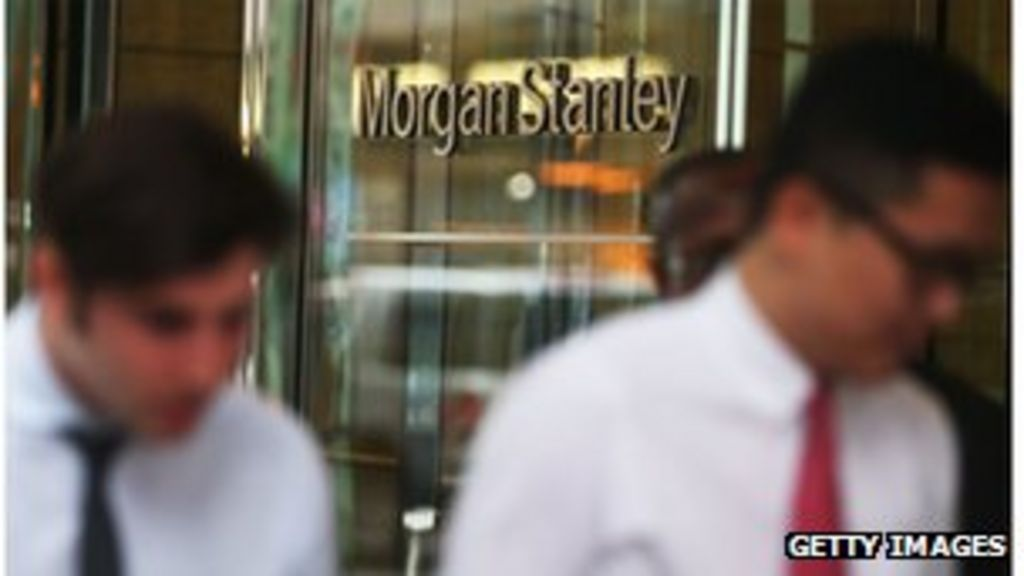 Morgan Stanley Reports Jump In Quarterly Profits Bbc News