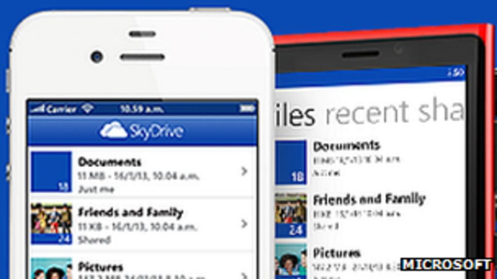 Sky makes Microsoft rename Skydrive