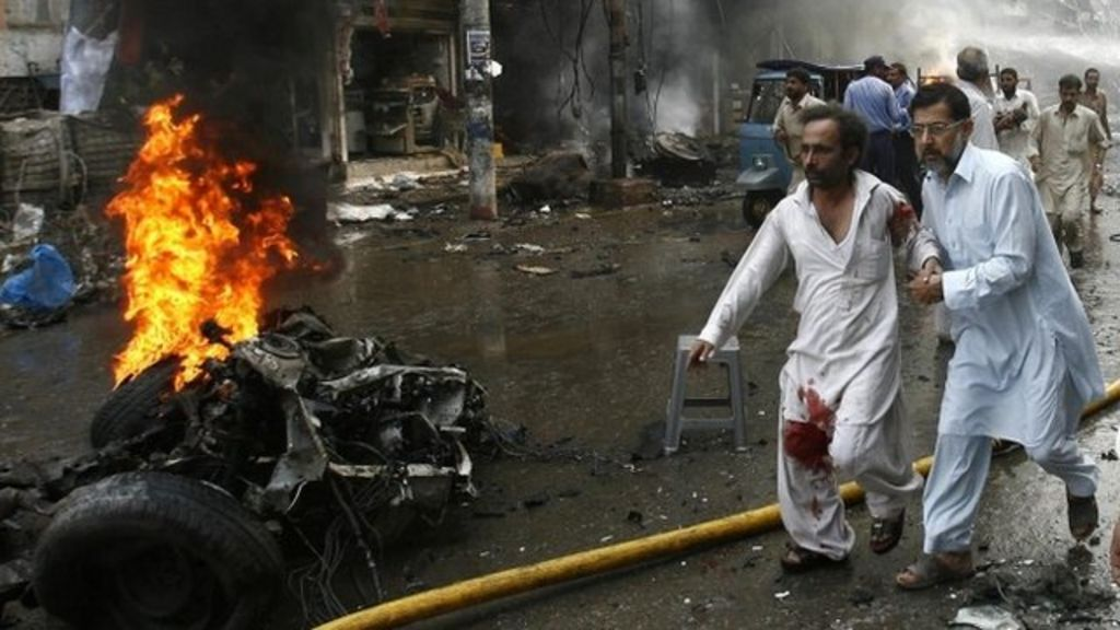 essay on bomb blast in pakistan