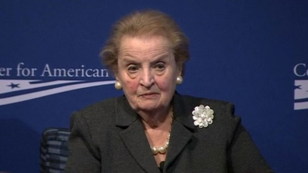 Madeleine Albright – Speech at the White House Commemorating International Women's Day